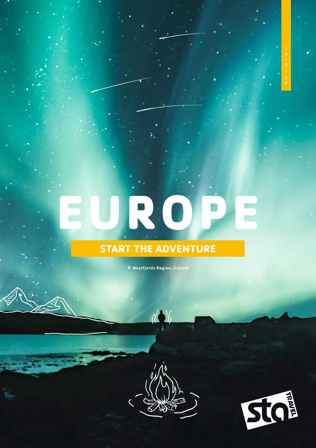 Europe 2019-20 GBP by STA Travel Ltd - issuu