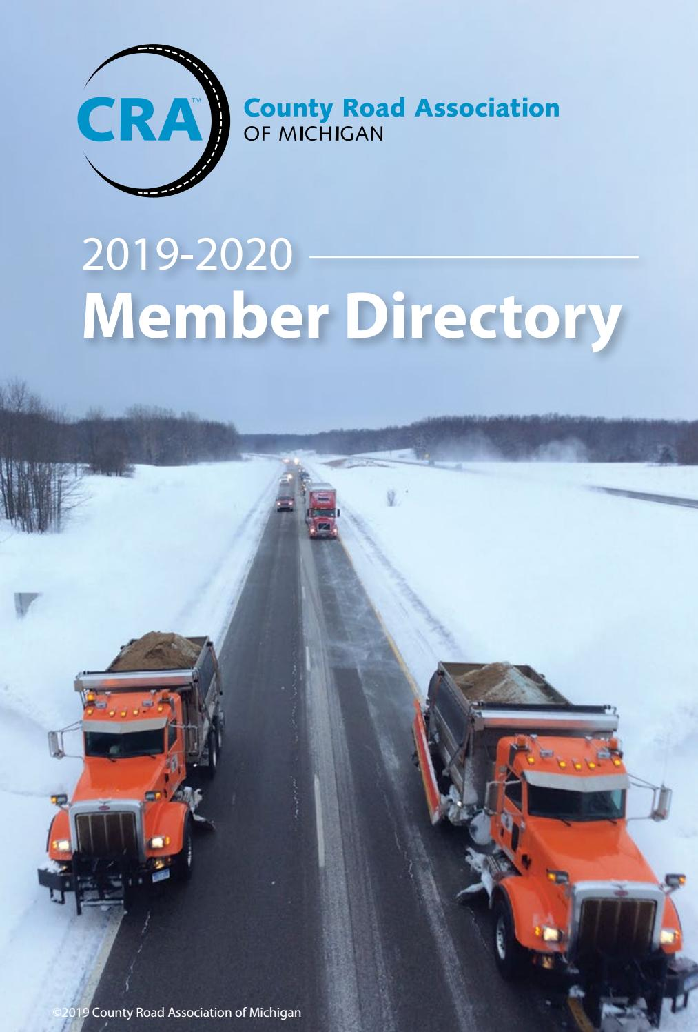 2019 2020 Cra Member Directory By County Road Association Of Michigan Issuu The county seat is muskegon. 2019 2020 cra member directory by
