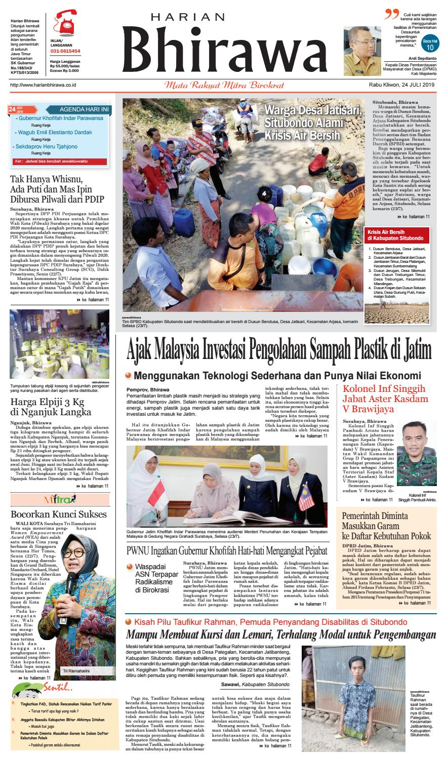 Binder24jul19 By Harian Bhirawa Issuu