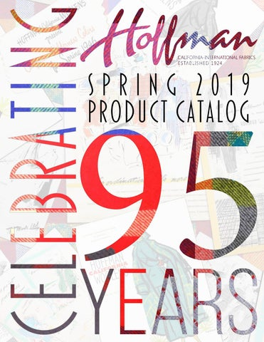 Hoffman Fabrics Spring 2019 Catalog By Hoffman California