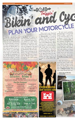 Page 14 of Bikin' and Cyclin'. Plan Your Motorcycle Week