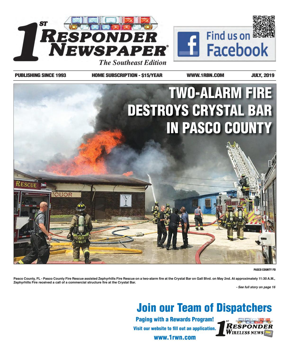 1st Responder News Southeast July Edition by Belsito