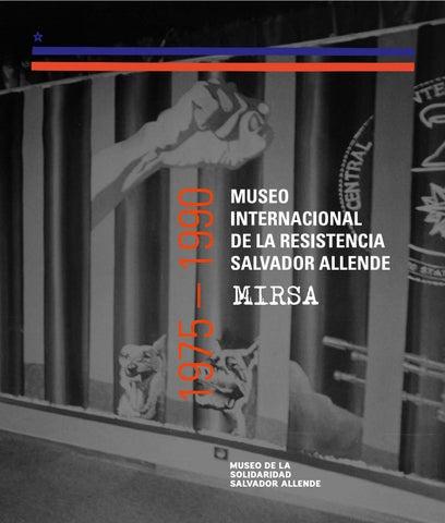 Catálogo Museo Internacional De La Resistencia Salvador