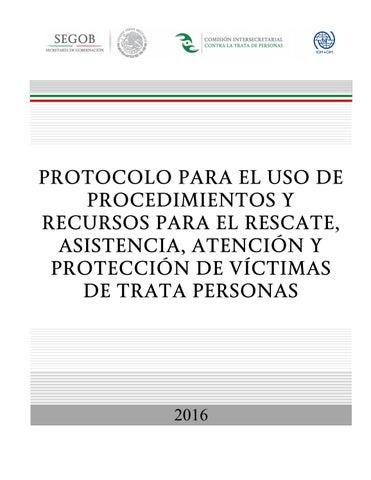 Protocolo Para El Uso De Procedimientos Y Recursos Para El