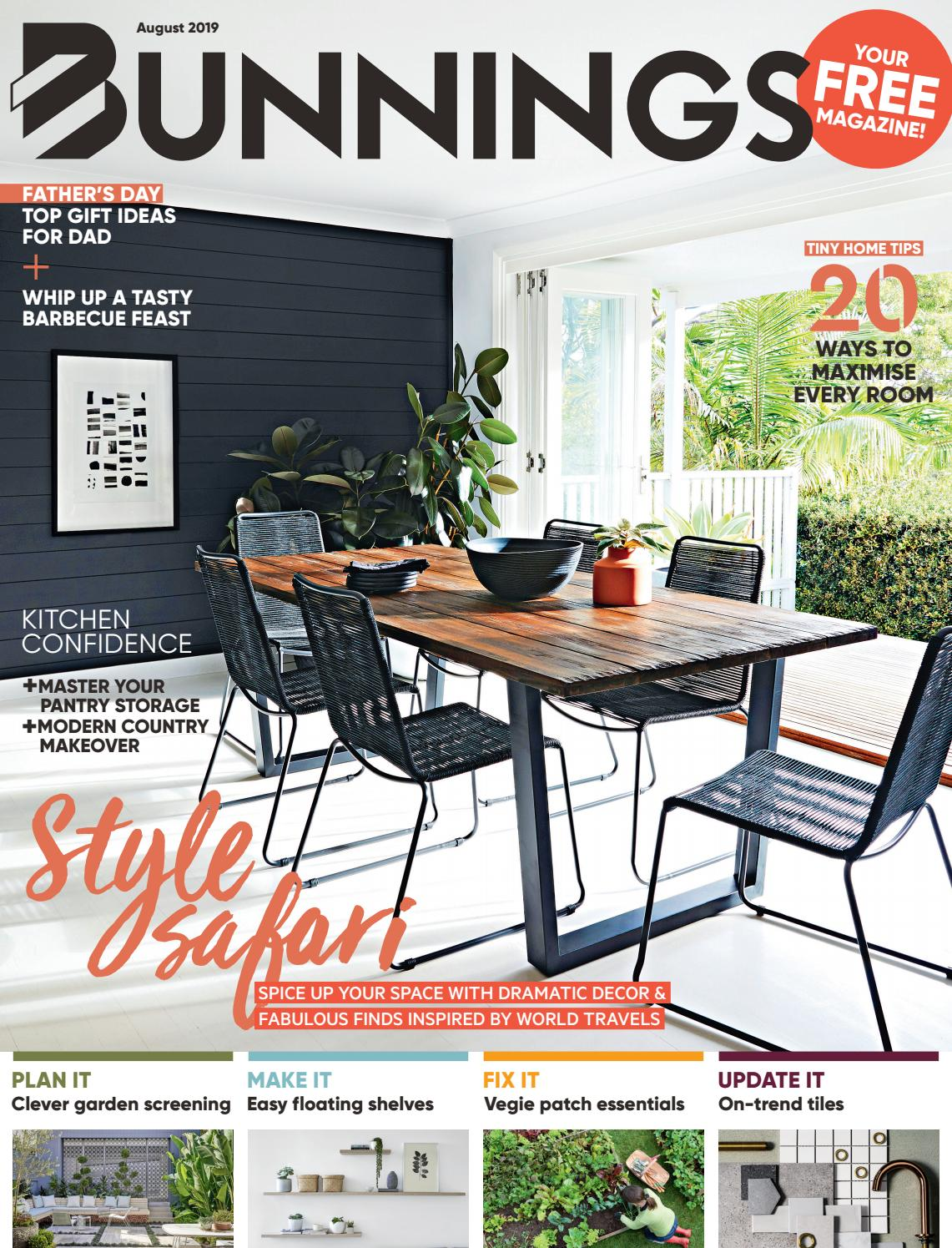 Bunnings Magazine August 2019 By