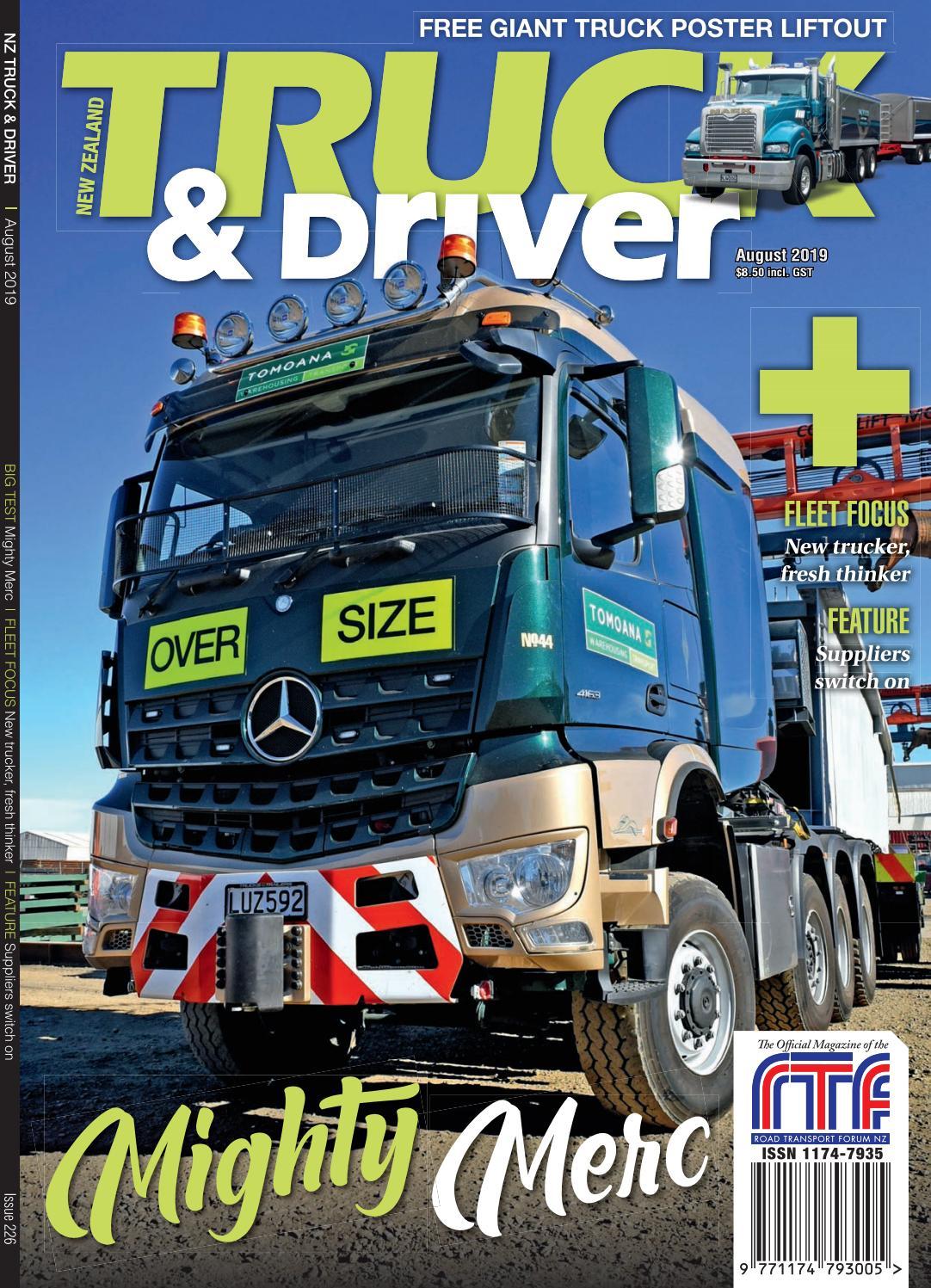 NZ Truck & Driver August 2019 by NZ Truck & Driver - issuu
