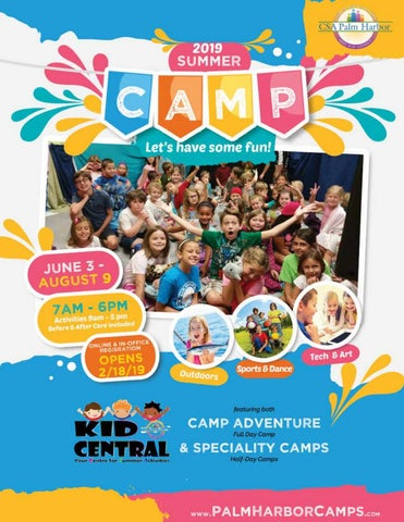 CSA's Summer Camp Guide 2019 by CSA Palm Harbor - issuu