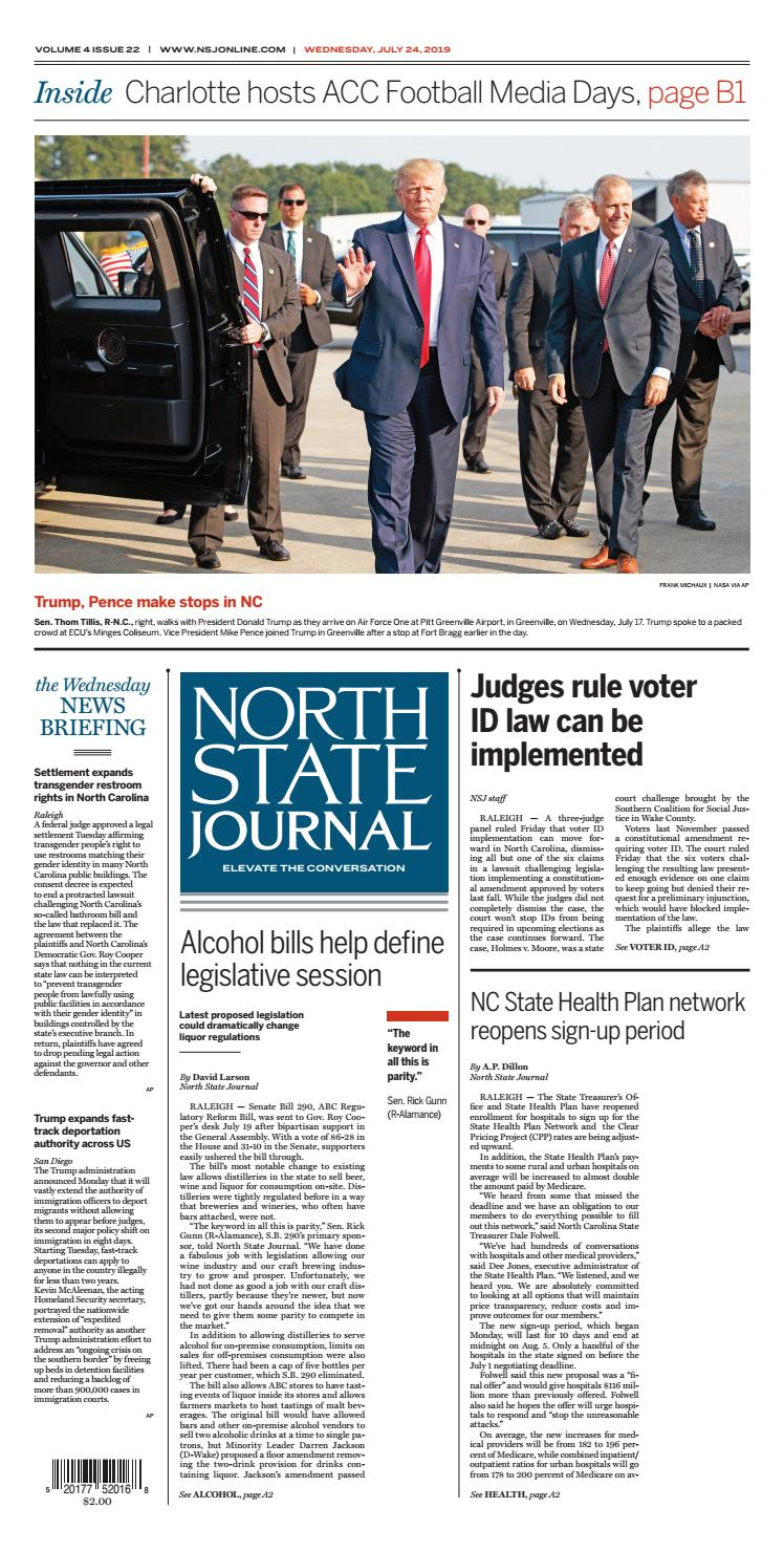 North State Journal Vol  4, Issue 22 by North State Journal