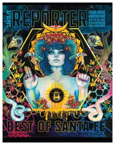 Cipriano Munoz Banos.July 24 2019 Santa Fe Reporter Best Of Santa Fe By Santa