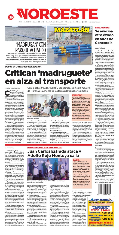 32ff83d23179 Mazatlá24072019 by Noroeste - issuu