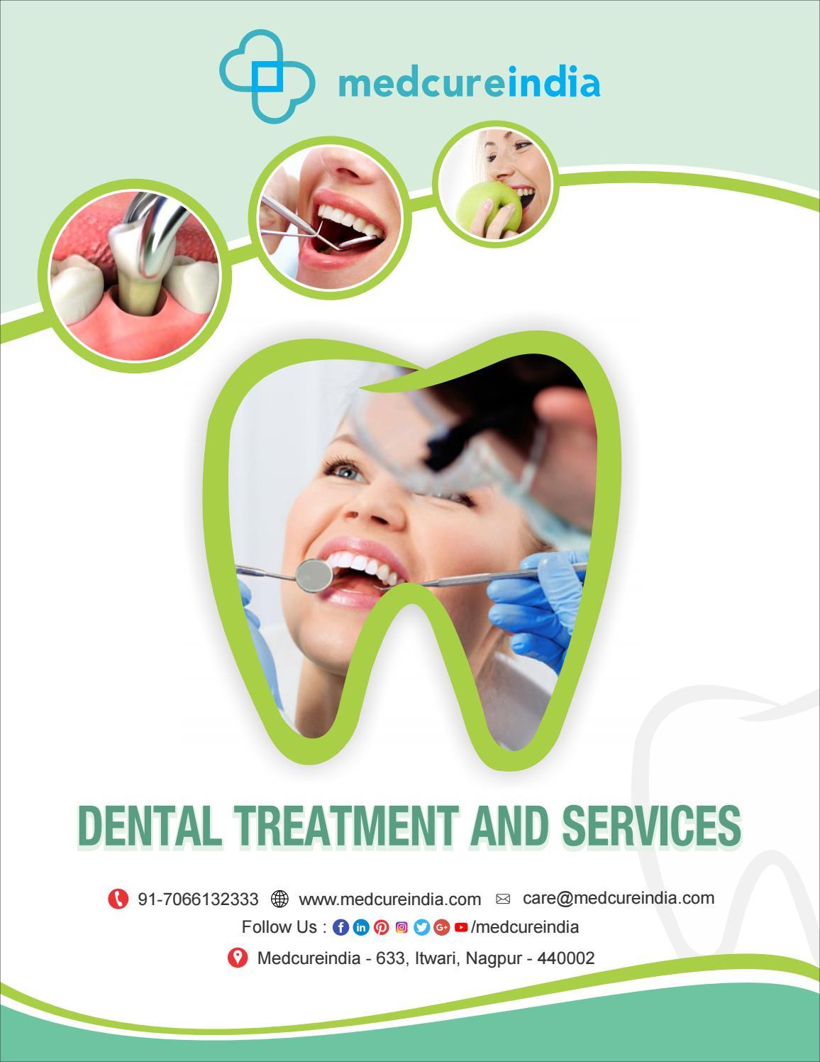 Dental Procedures and Treatments - MedcureIndia