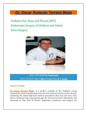 Dr Oscar Rolando Terraza Mejía By Centralamericasurgery Issuu