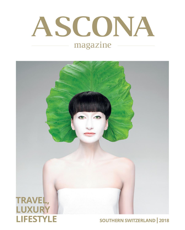 Ascona Magazine 2018 By Visiva Studio Issuu