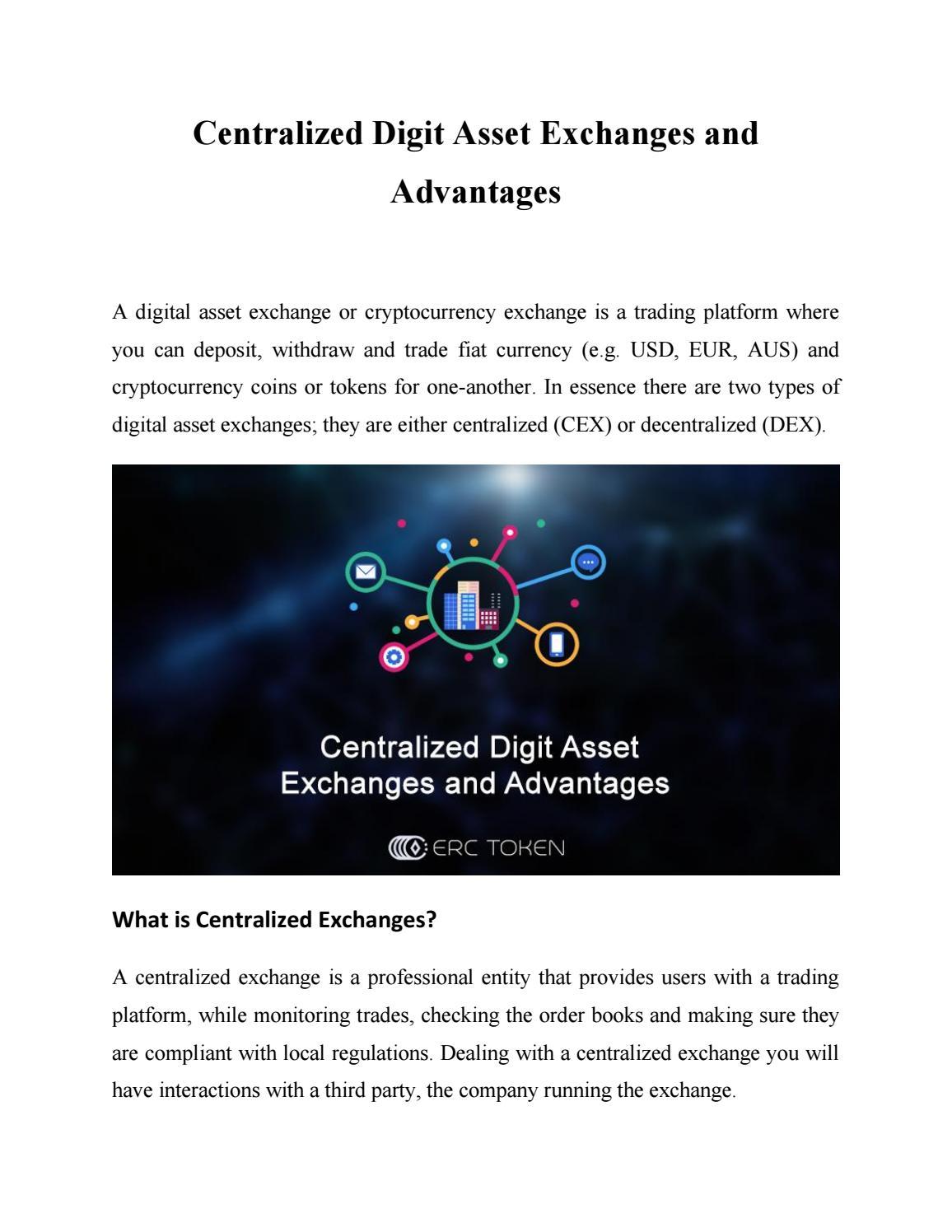 digital asset exchange company
