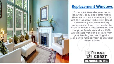 Find The Best Replacement Windows In Virginia Beach By East