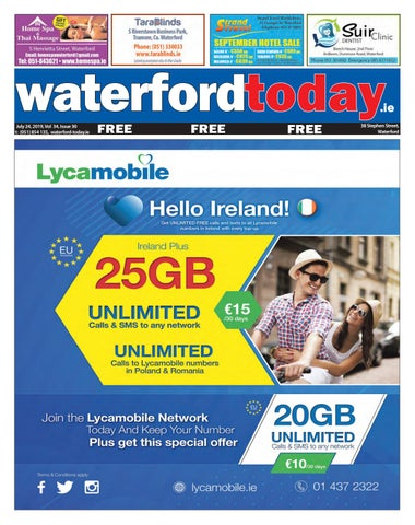 Waterford Today 24-07-2019 by Waterford Today - issuu
