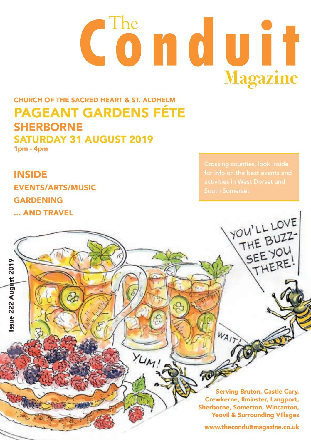 The Conduit Magazine August19 by Shelleys the Printers Ltd