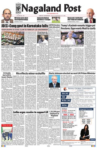 July 24, 2019 by Nagaland Post - issuu