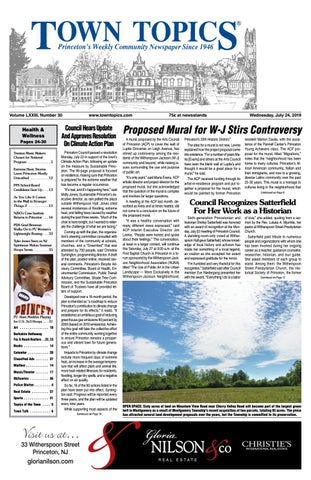 Town Topics Newspaper, July 24 by Witherspoon Media Group