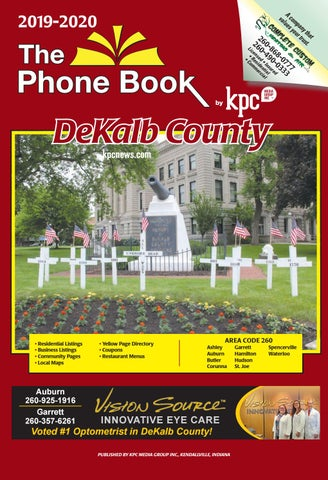 Dekalb County Fair 2020.2019 2020 The Phone Book Of Dekalb County By Kpc Media Group
