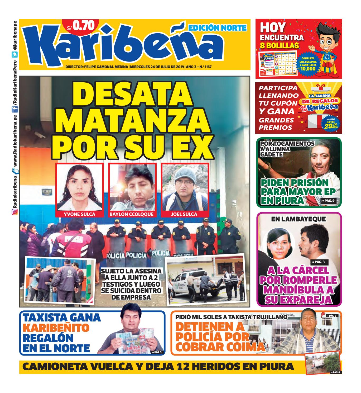 b8c3ab5dc Diario Karibeña (Edición Norte) by Corporación Universal - Ediciones ...