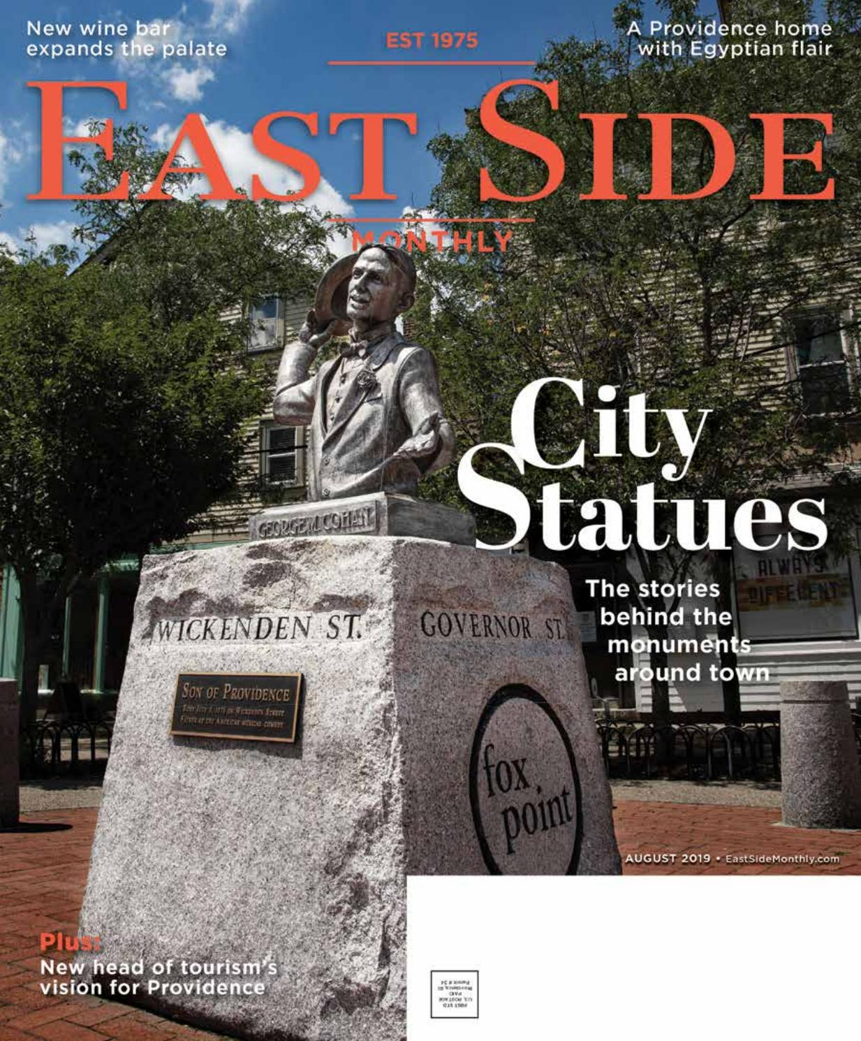 East Side Monthly August 2019 by Providence Media - issuu