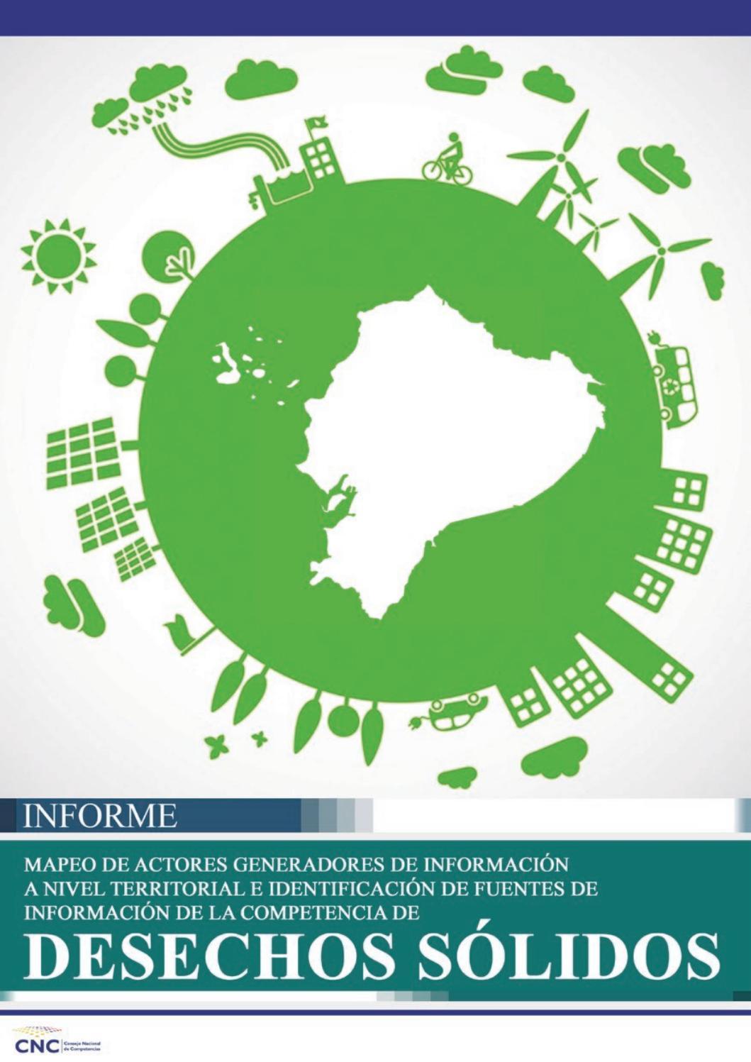 Informe De La Competencia De Desechos Sólidos By Consejo