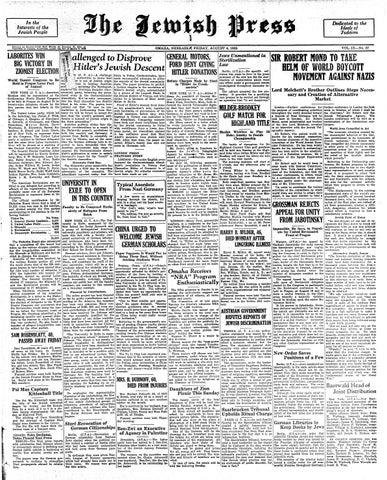 August 4, 1933 by Jewish Press - issuu