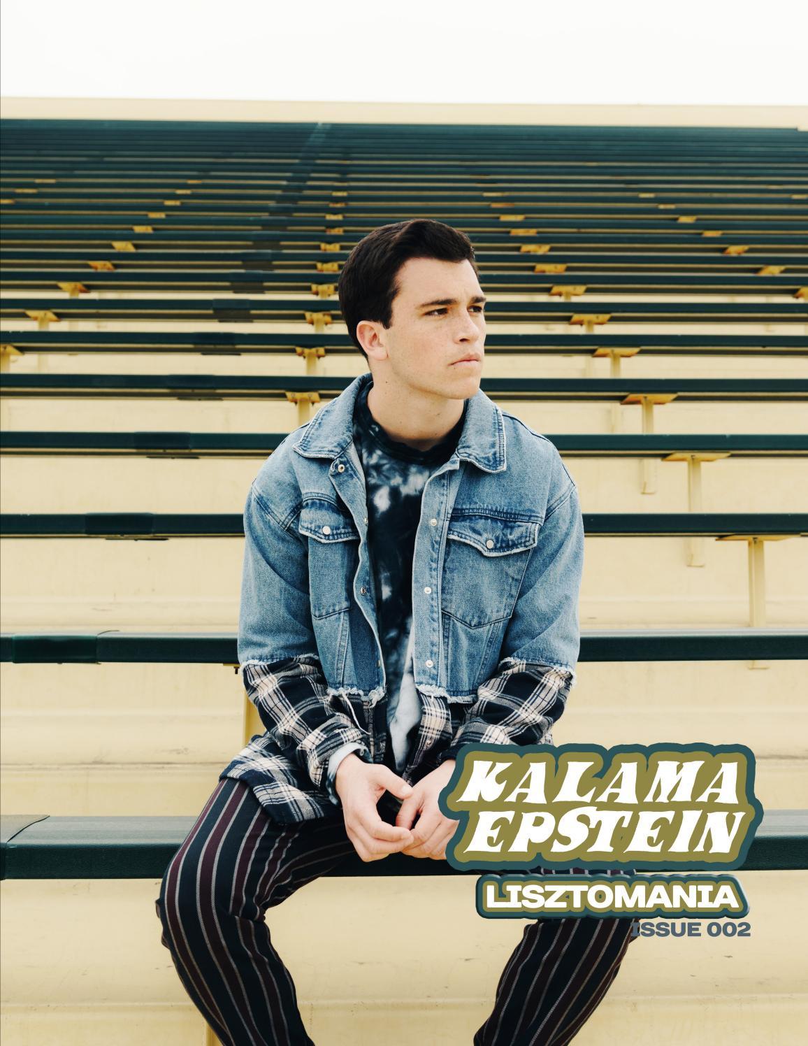 Lisztomania Magazine 002 Kalama Epstein By Lisztomania Magazine