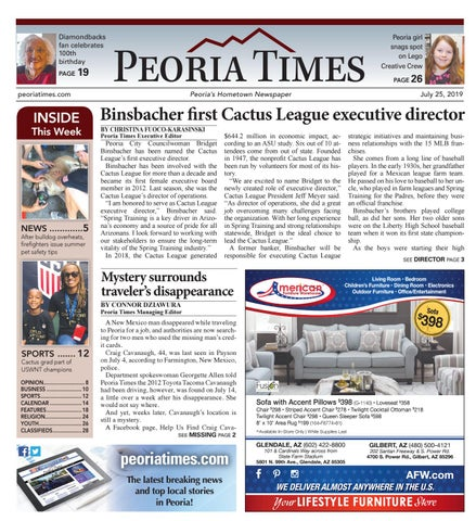 Peoria Times 07-25-2019 by Times Media Group - issuu