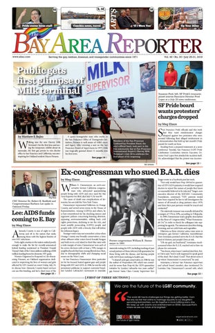 July 25, 2019 Edition of the Bay Area Reporter