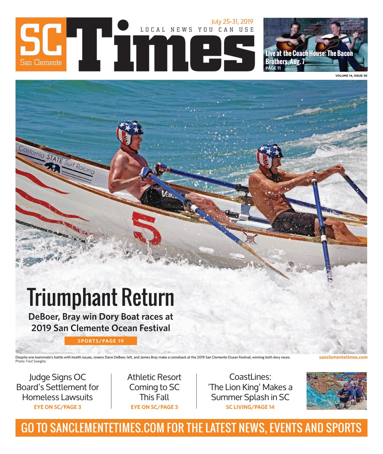 July 25, 2019 by San Clemente Times - issuu
