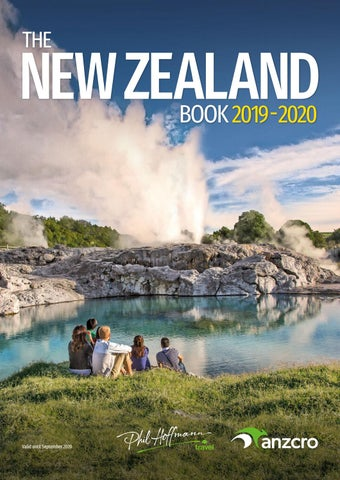 The New Zealand Book 2019-20 - Phil Hoffmann by Holiday
