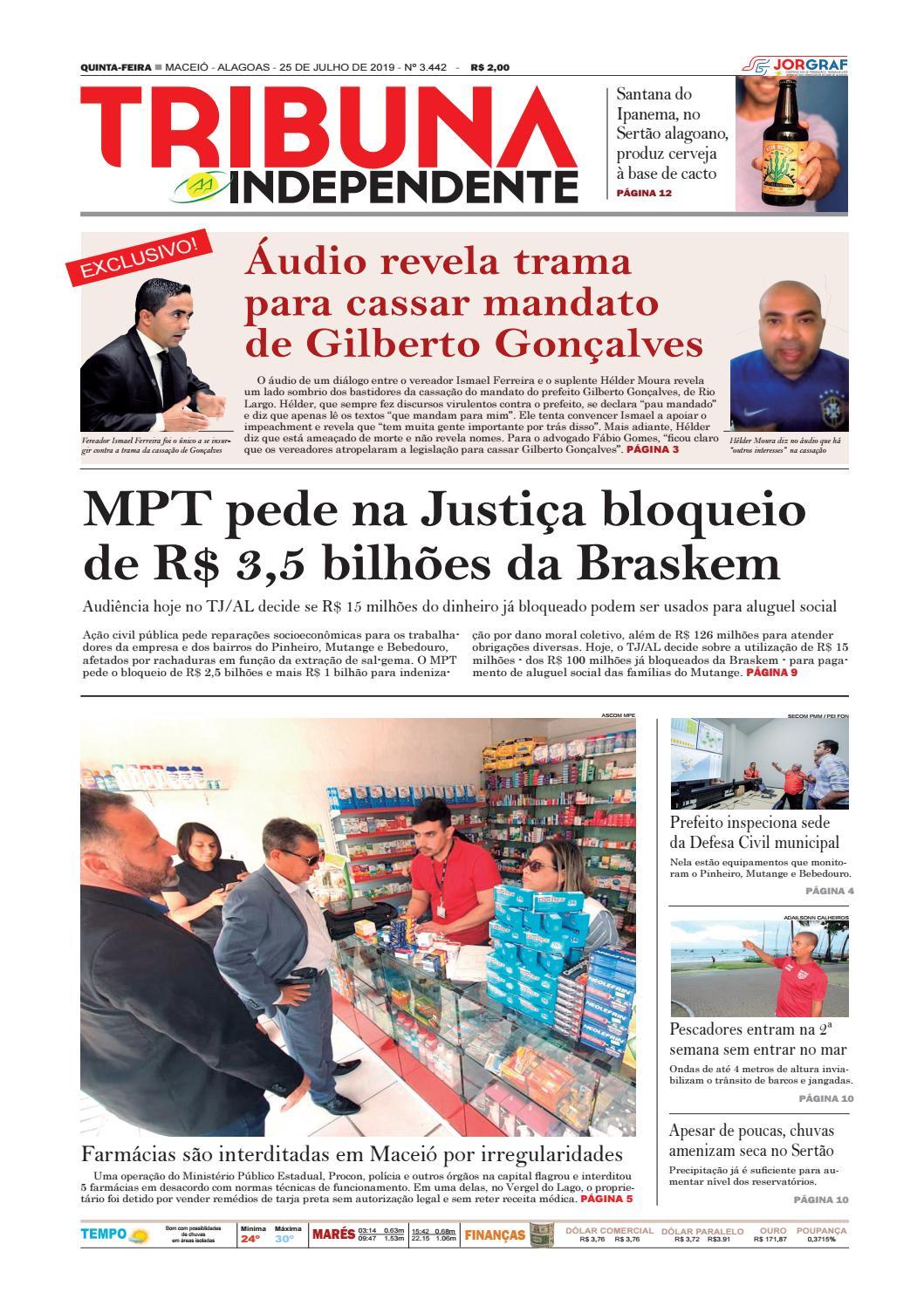 Edição número 3442 - 25 de julho de 2019 by Tribuna Hoje - issuu