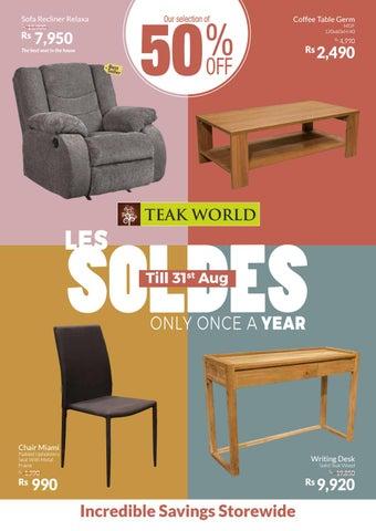 Les Soldes 2019 Teak World By Teak World Issuu