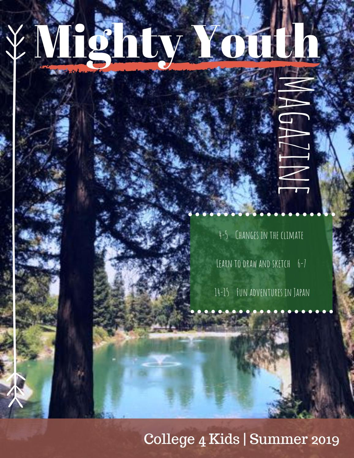 Dvc Summer 2020 Classes.Mighty Youth Magazine College 4 Kids Diablo Valley
