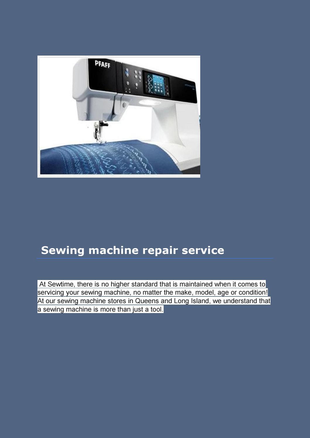 Sewing Machine Repair Oakland