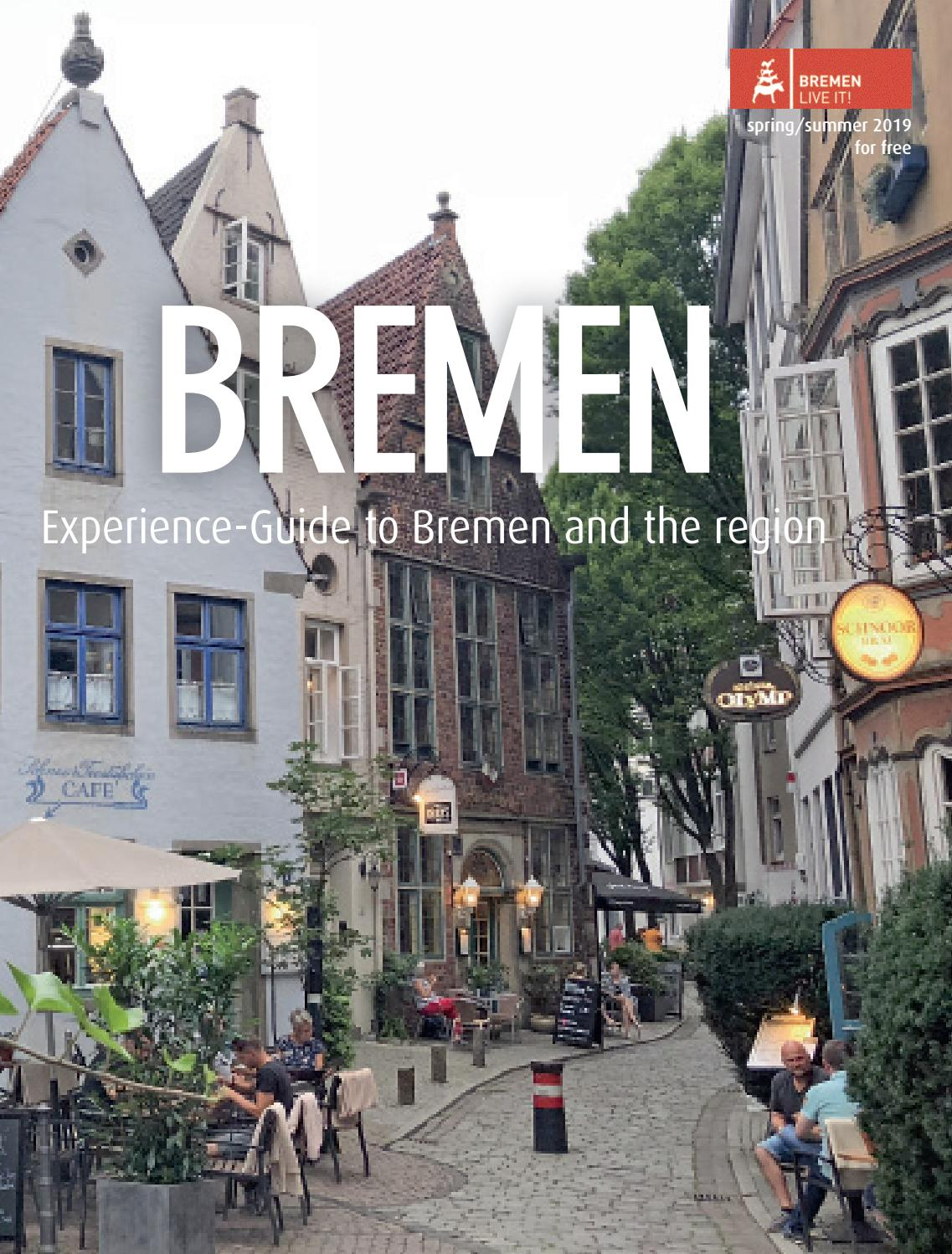 Discovery Guide Bremen 2019 Englisch Erelbnis Guide by KPS