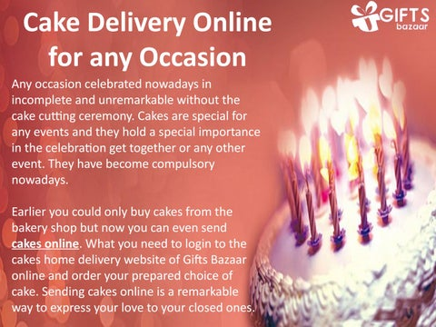 Astounding Cake Delivery Online For Any Occasion By Tsbazaaronline Issuu Funny Birthday Cards Online Hetedamsfinfo