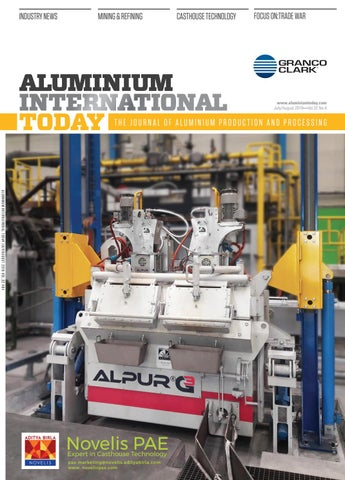 Aluminium International Today July August 2019 by Quartz