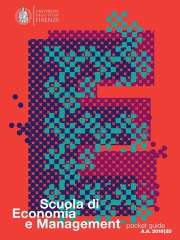 Calendario Unifi Economia.Pocket Guide Scuola Di Economia E Management Universita