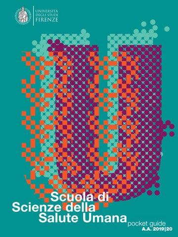 Calendario Unifi.Pocket Guide Scuola Di Scienze Della Salute Umana