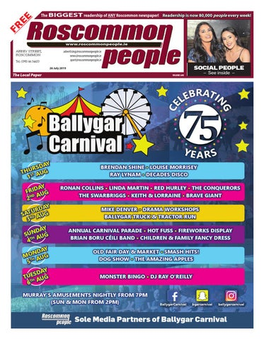 2019 07 26 by Roscommon People - issuu