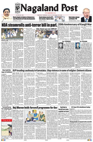 July 25, 2019 by Nagaland Post - issuu