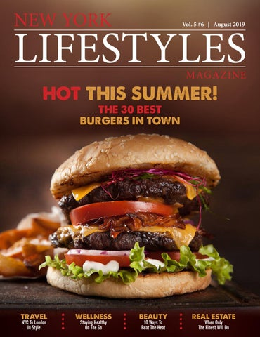 Vol Carte Bancaire Burger King.New York Lifestyles Magazine August 2019 By New York