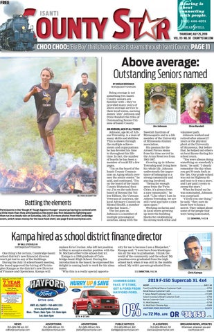 Isanti County Star July 25, 2019 by Isanti-Chisago County
