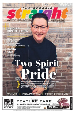 The Georgia Straight Two Spirit Pride July 25 2019 By The