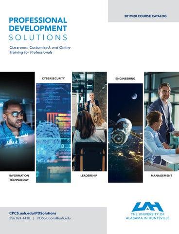UAH Professional Development Solutions 2019/2020 Course