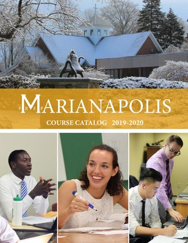 Course Catalog 2019-2020 by Marianapolis - issuu