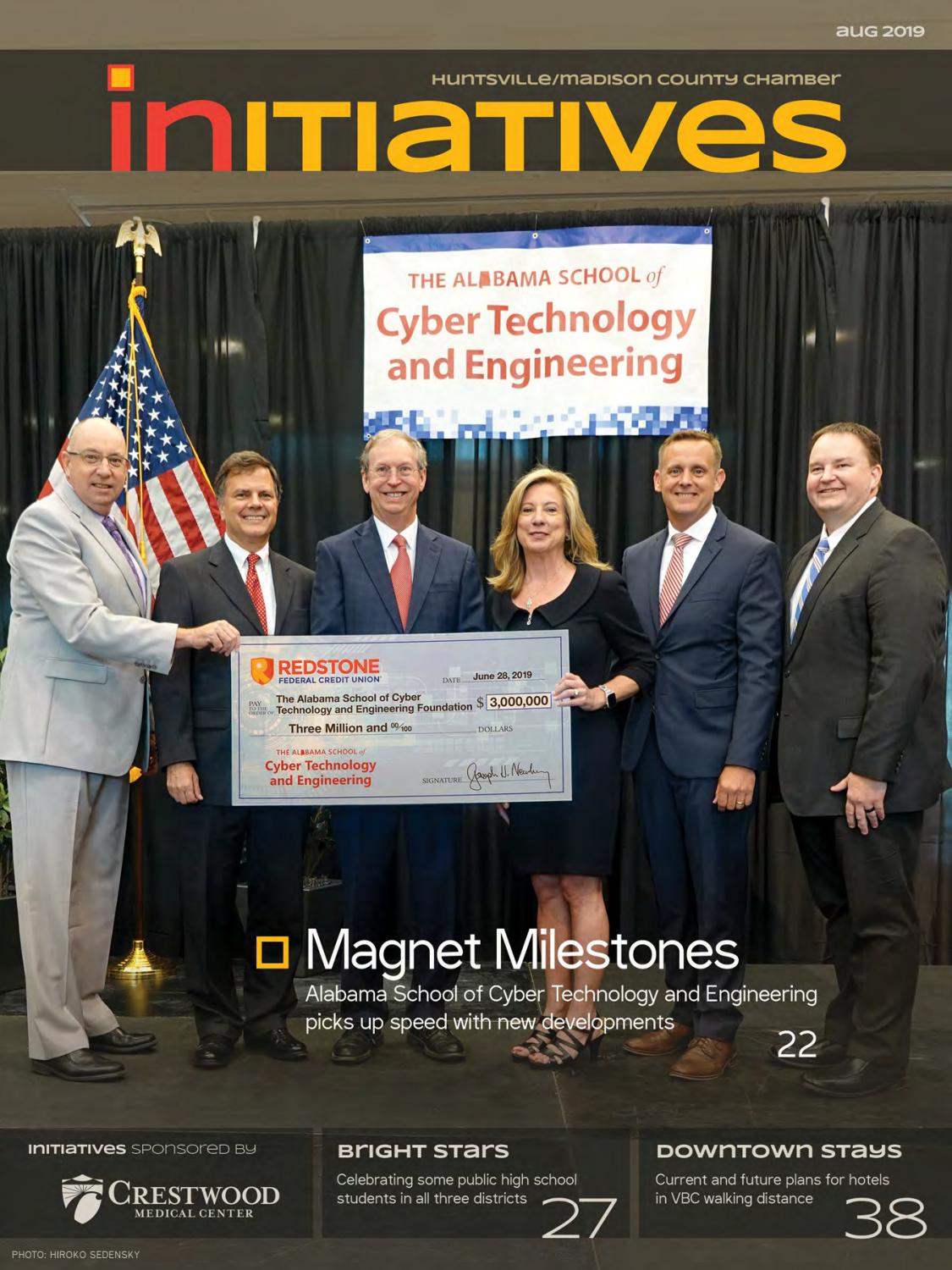 Initiatives August 2019 By Huntsville Madison County Chamber Issuu